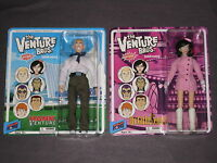 The Venture Bros Series 4 Figures Hank & Dr Girlfriend Bif Bang Pow Adult Swim