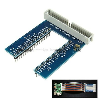 GPIO U-shaped Adapter Plate V2 Expansion Board Breadboard for Raspberry Pi B+