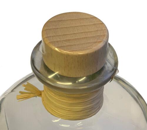10x Schrumpfkapsel für Apothekerflasche Verschluss transparent Universalgröße