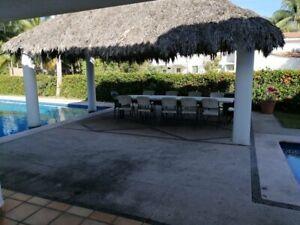 renta casa de 5 habitaciones en manzanillo club santiago