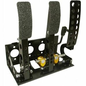 OBP-Universal-Floor-Mount-Bulkhead-Hyd-Clutch-Race-Pedal-Box-Bronze-OBPVIC01