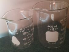 Pyrex 250 Ml Amp Pyrex 400 Ml Glass Beakers