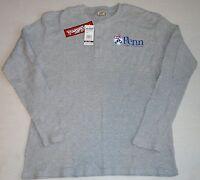 Penn Quakers Thermal T Shirt Long Sleeve Men's Gray L Xl 2x Big Ball Sports