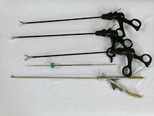 Laparoscopy Needle Holder Grasper Scissors Training Practicing Instruments Set