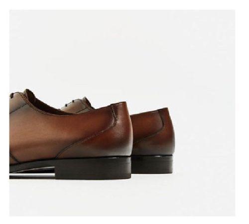 MEN HANDMADE FORMAL Schuhe REAL LEATHER WINGTIP Schuhe BROWN LACE UP DRESS Schuhe WINGTIP dba212
