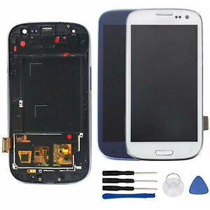 Per-Samsung-Galaxy-S3-Neo-i9301-i9308i-Display-LCD-Touch-Screen-Schermo-Frame