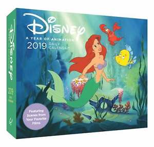Disney Desk Calendar 2019 Princess Animation Films Movies Characters 9781452159409