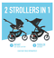 thumbnail 3 - New Pink Girl's Single Baby Stroller Jogger Folding Child Travel Carriage Infant