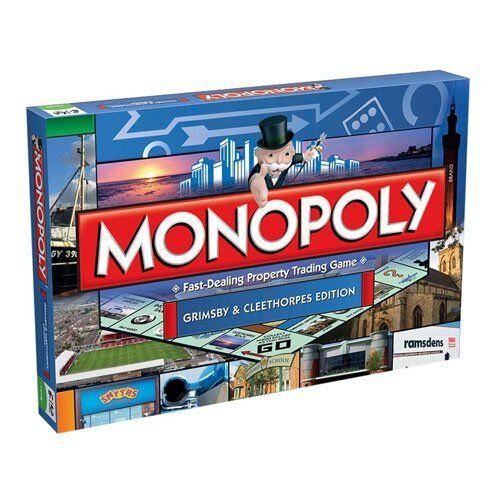 Grimsby Monopoly Board Game Grimsby & Cleethorpes EDIZIONE BAMBINI DIverdeENTE IDEA REGALO NUOVO