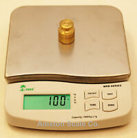 10,000 X 1 Gram Digital Scale 6 X 7 Bench Lab Postal Gold Silver Bench Shipping