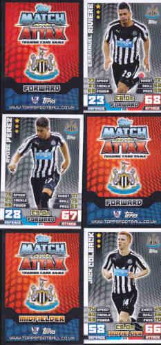Match attax 14//15 pereznewcastle United carte n ° 214 ENVOI GRATUIT
