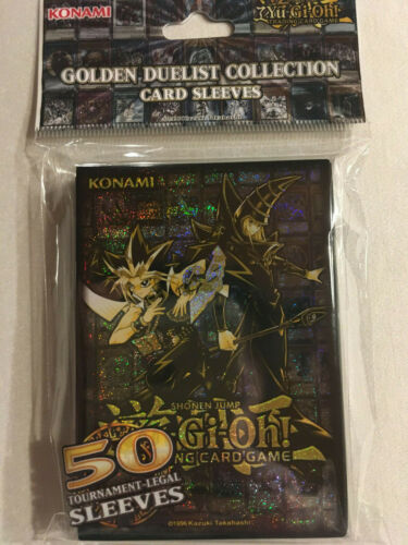 Neu//OVP 50 Stück Golden Duelist Collection Card Sleeves Yu-Gi-Oh