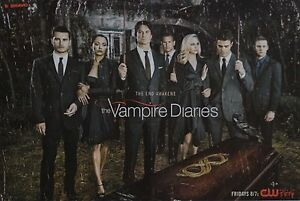 THE-VAMPIRE-DIARIES-A3-Poster-42-x-28-cm-Paul-Wesley-Clippings-Sammlung