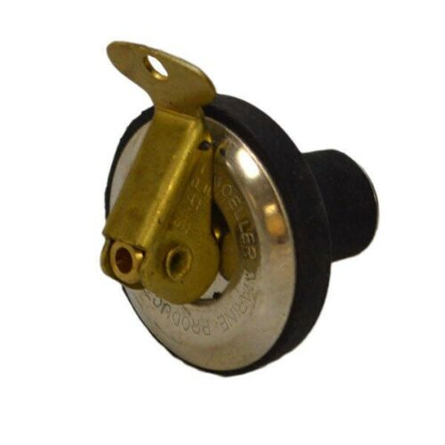 Baitwell Drain Plug 051003-00 Moeller Marine 1//2 Inch Rubber Boat Livewell