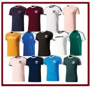 Adidas-Original-Trefoil-California-Crew-Neck-Shirt-Mens-T-Shirt-S-M-L-XL-XXL-NEW