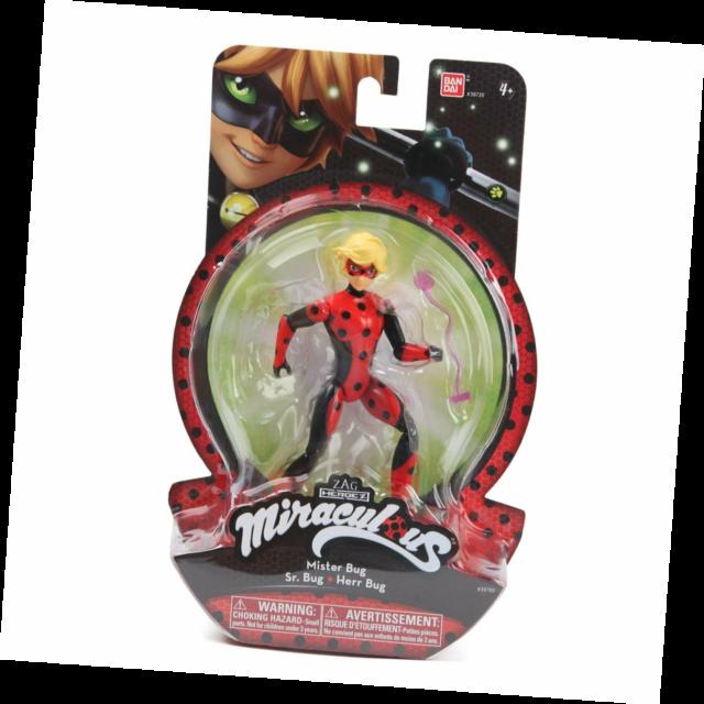 Bandai Zag Heroez Miraculous Mister Bug 15cm Action FIgure