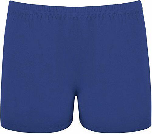 Ladies Viscose Stretch Microfibre Hot Pants Cycling Gym Swim Shorts UK Size 8-18