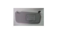 852201C200QS Sun Visor Inside Passenger Right Gray HYUNDAI GETZ CLICK 2002-2012