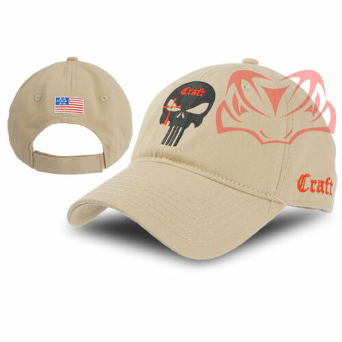 Coton Tactique Style sceau Punisher American Army Snapback Hat B