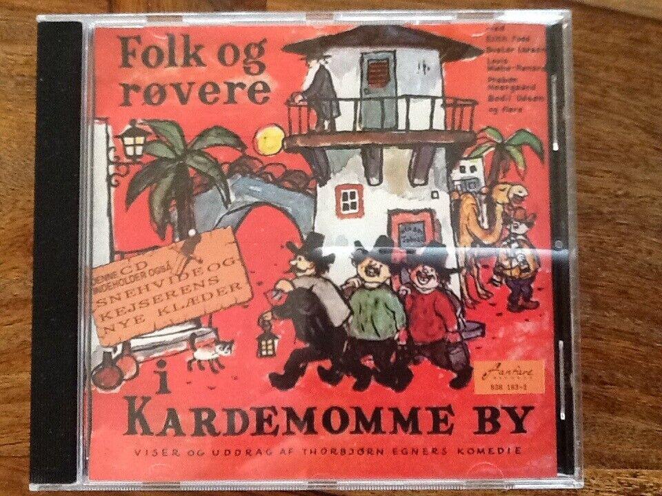 Thorbjørn Egner: Folk og røvere i Kardemomme By, børne-CD