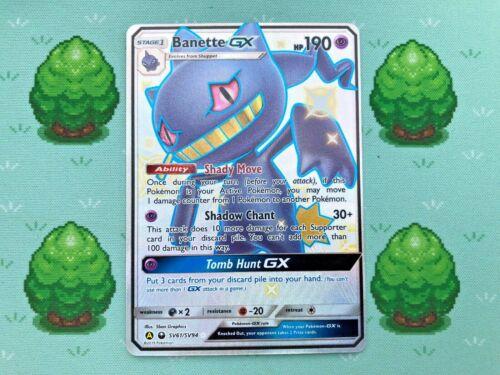 SV61//SV94 Pokemon Banette GX Full Art SM Hidden Fates