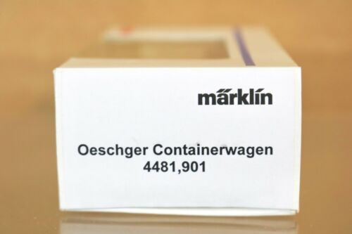 Marklin Märklin 4481,901 Sondermodell Oit Oeschger Transporte Container Waggon