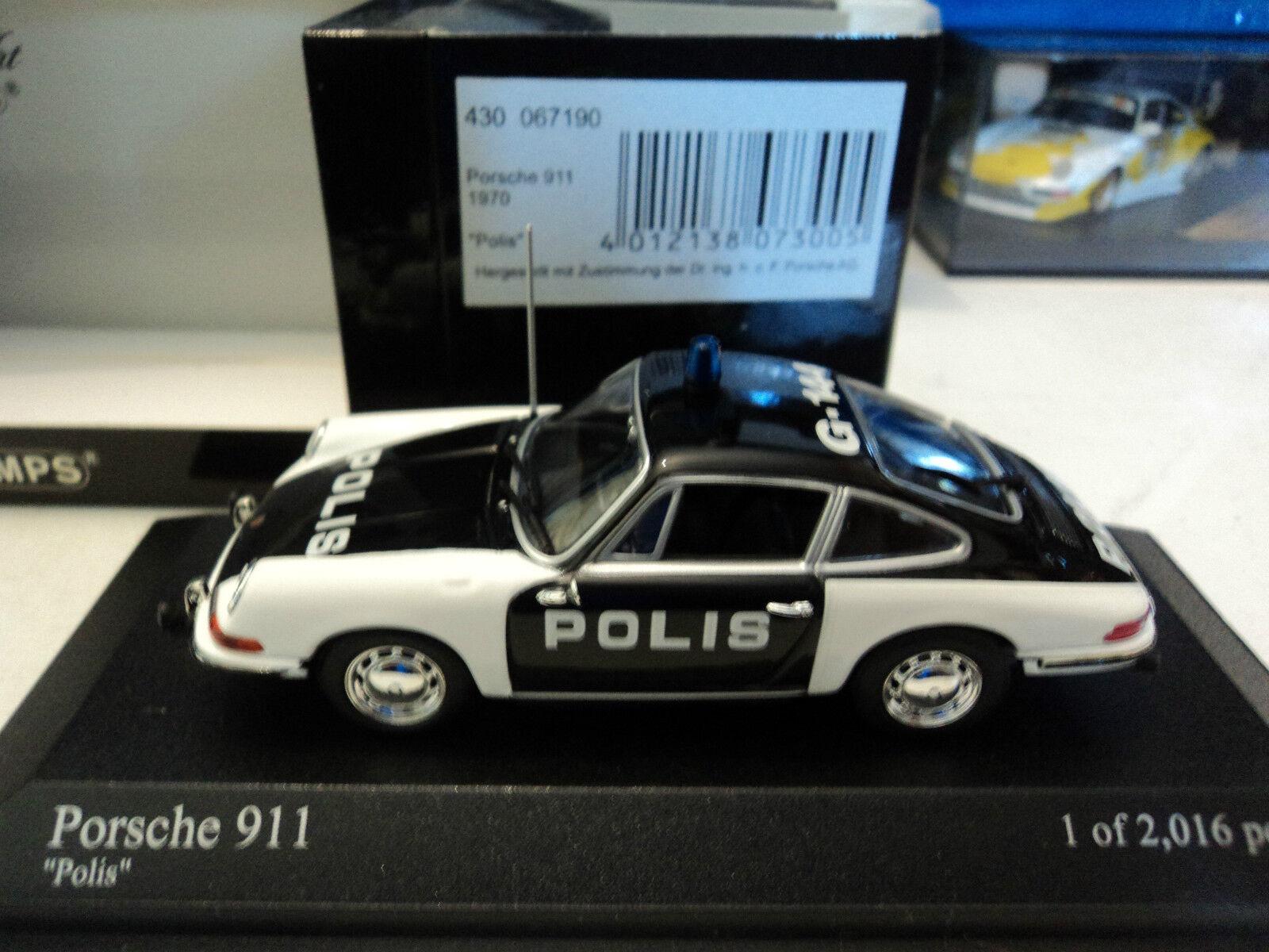 Minichamps 1 43 Porsche 911 1970  POLIS