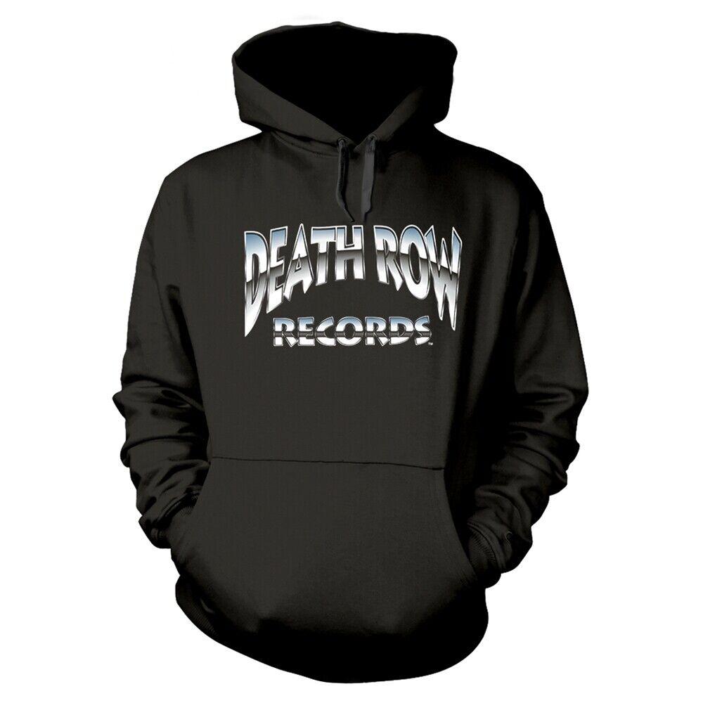 Death Row Records 'Metallic Logo' Pullover Hoodie - NEW