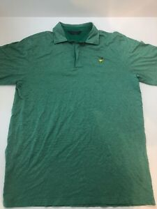 49f0dede Image is loading Masters-Golf-Shirt-green-Logo-Clubhouse-Collection-Polo-