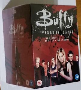 Buffy The Vampire Slayer Completo DVD Colección Box Set 20th Aniversario Sellado