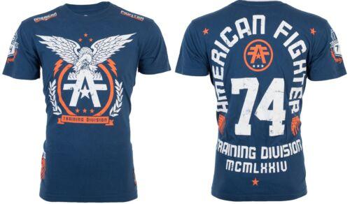 AMERICAN FIGHTER Mens T-Shirt TAKE FLIGHT Eagle NAVY Athletic Biker Gym UFC $40