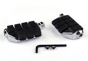 Fussrasten-Dually-Foot-pegs-Chrom-fuer-Harley-Davidson-Softail-Chopper