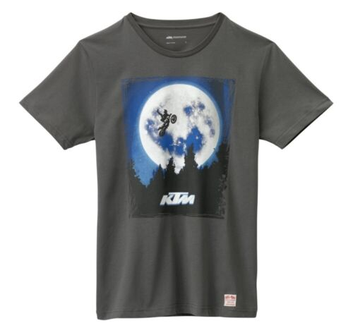 KTM OUTERSPACE TEE CHARCOAL POWERWEAR LOGO T-SHIRT WAS $29.99 ALL SIZES