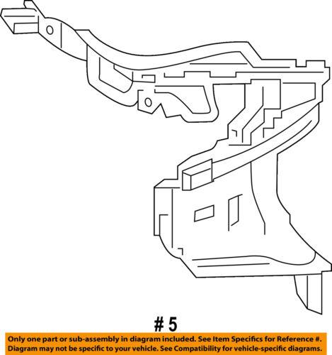 TOYOTA OEM Camry Quarter Panel-Taillight Tail Light Lamp Pocket Right 6169706906