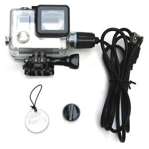 Outdoor-Sports-Waterproof-Housing-USB-Charging-For-GoPro-Hero-4-3-Black-Camera