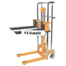 New Wesco Value Lift Manual Stacker 880 Lb Cap 47 Lift
