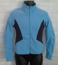 Nike Womens Therma-Fit Fleece Full Zip Sweatshirt Top Small Brand New #2539 Blue
