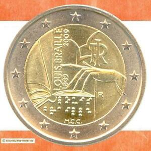 Sondermünzen Italien 2 Euro Münze 2009 Lbraille Sondermünze Zwei