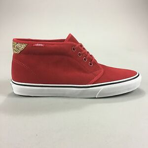 c76a188632 Vans Chukka 69 Trainers Pumps Brand new in box in Red UK Size 6