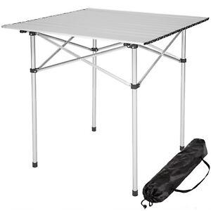 Tavolo Arrotolabile Campeggio E Outdoor.Tavolo Camper Campeggio Picnic Alluminio Pieghevole Arrotolabile