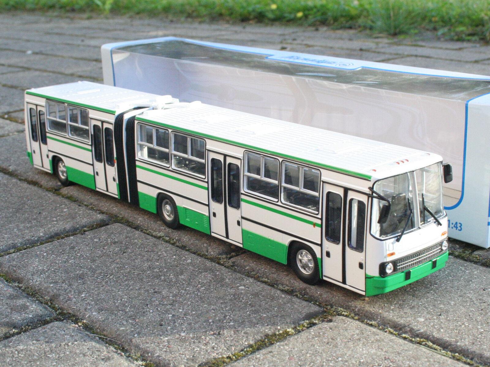 1 43 Ikarus  280.64 double-Bus articulé URSS ville lignes raba on Bus USSR russian  édition limitée chaude