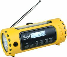 Freeplay TUF AM/ FM / Short Wave  Radio and Light – Solar & Hand-Crank Charging
