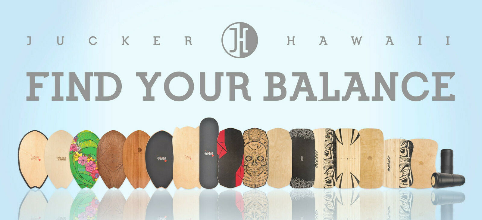 JUCKER HAWAII Homerider   Balanceboards   Balance Boards Trainer Trickboard Holz
