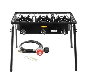 CONCORD-Triple-Burner-Outdoor-Stand-Stove-Cooker-w-Regulator-Brewing-Supply