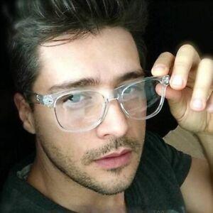 Transparent-Glasses-Optical-Frame-Spectacle-Women-Men-Retro-Myopia-Multicolor