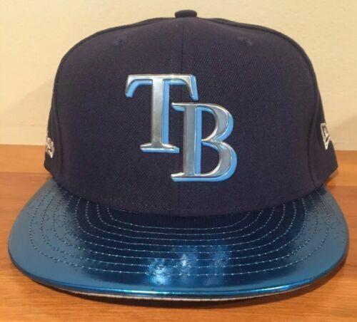 tampa bay devil rays shiny logo topps baseball card era 9fifty snapback hat for sale online ebay ebay