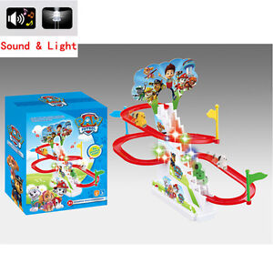 Paw-Patrol-Figures-Dog-Doll-Light-Music-Track-Stairs-Kids-Baby-Boy-Girl-Toy-Gift