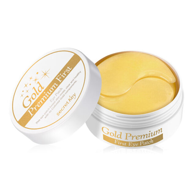 [SECRET KEY] Gold Premium First Eye Patch 60P / Natural hydro gel