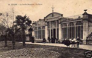 Details about CPA CARTE POSTALE LUCON LE JARDIN DUMAINE LA SERRE ANIMEE  VENDEE 1916