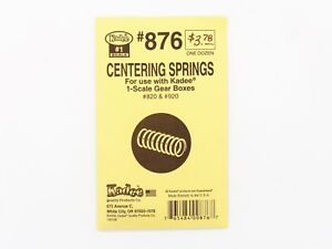#1-Scale Centering Springs for Kadee Gear Boxes (12) - Kadee #876 <  vmf121